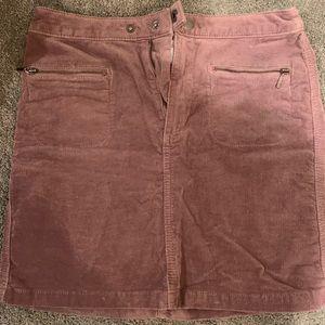 Dresses & Skirts - Purple mini corduroy skirt stretchy / high waisted